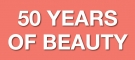 50 YEARS OF BEAUTY